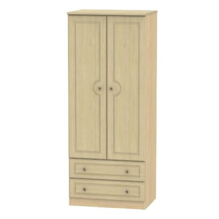 Pembroke Tall 2 Drawer Robe